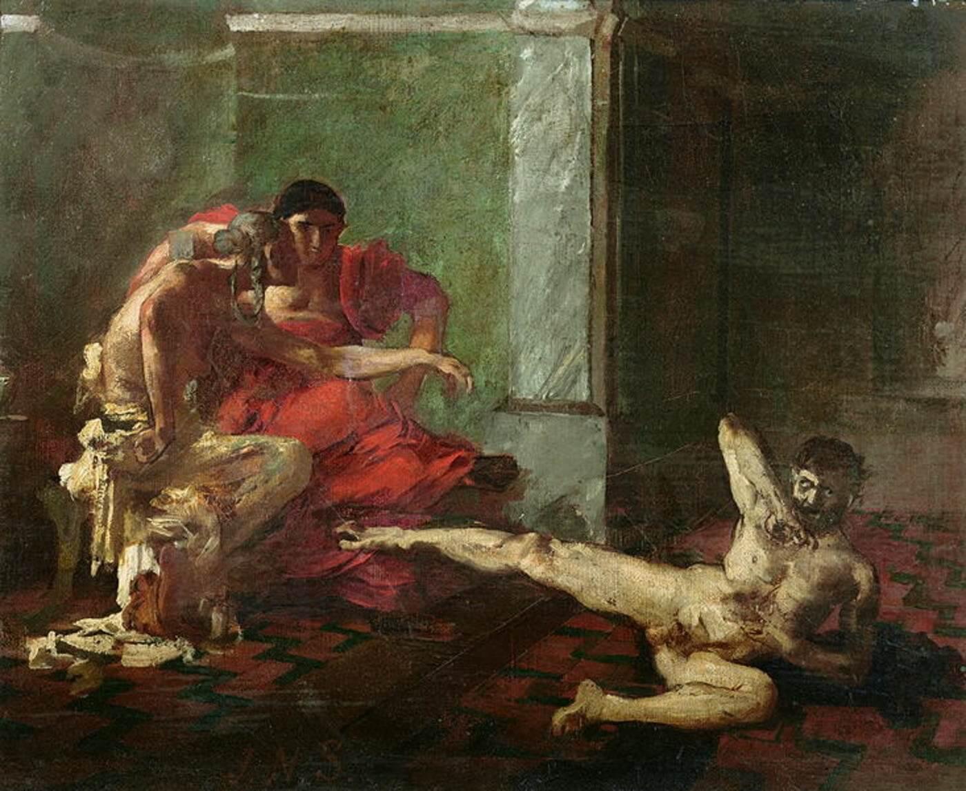 Локуста — древнеримская отравительница