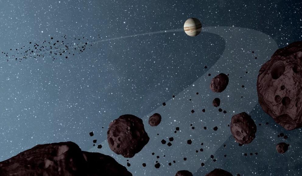Юпитер и «троянские астероиды»