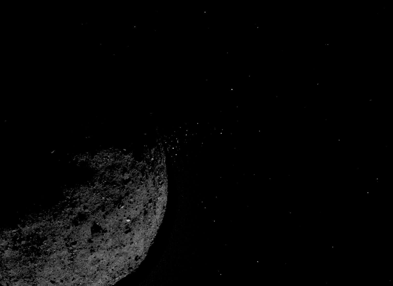 Астероид Бенну оказался более активным, чем считалось