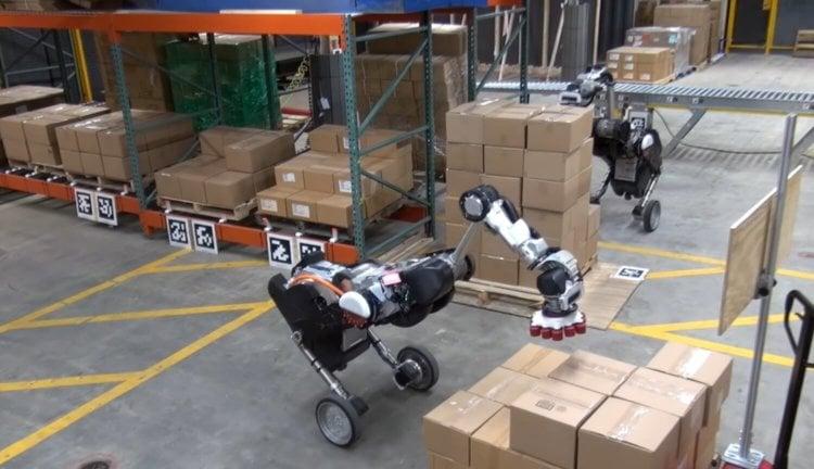 Робот Boston Dynamics Handle