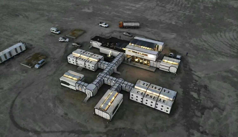 Лунная станция в Китае