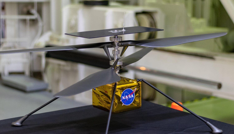 Вертолет Mars 2020
