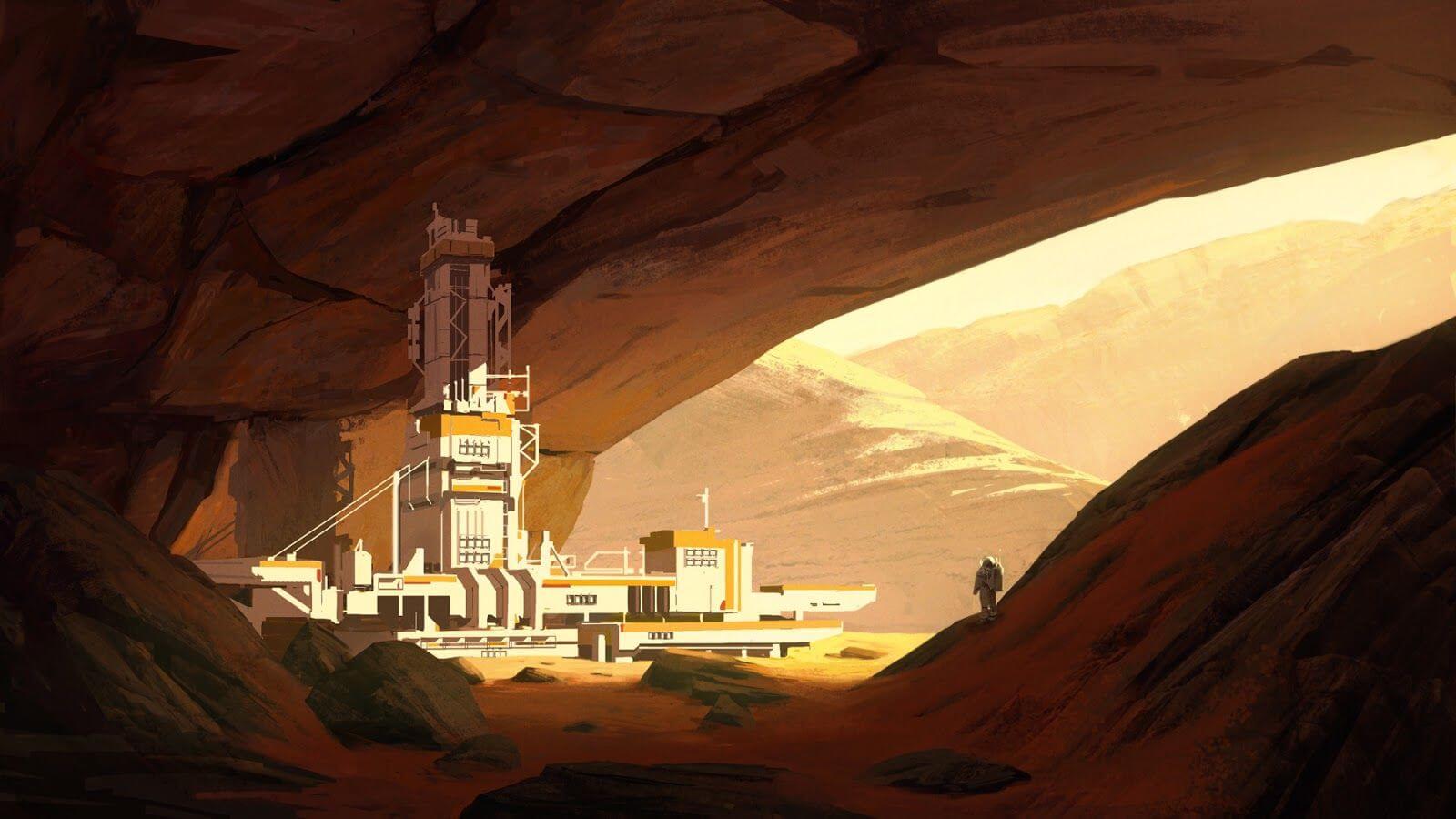Исследование пещер на Земле с помощью летающих дронов может упростить колонизацию Марса