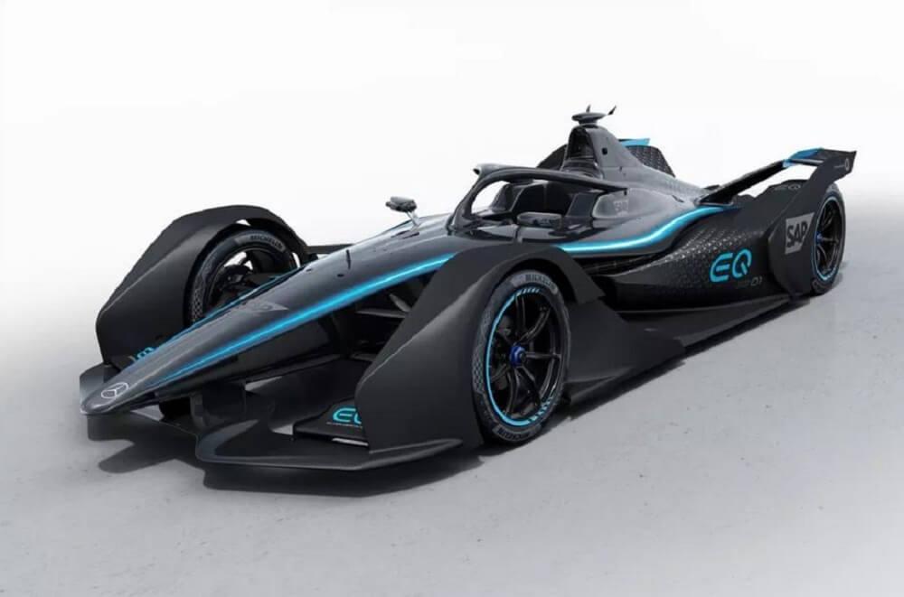 Mercedes-Benz показал свой первый реальный гоночный электромобиль