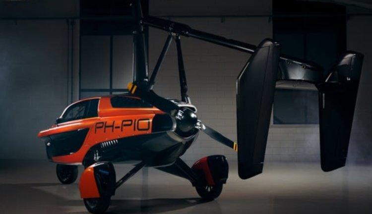 Первый серийный летающий автомобиль PAL-V. Не концепт, а реальность!