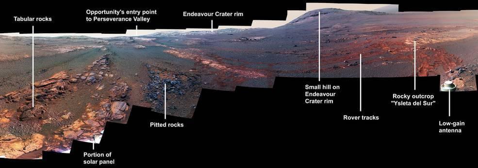NASA опубликовало последние фотографии, которые передал марсоход «Оппортьюнити»