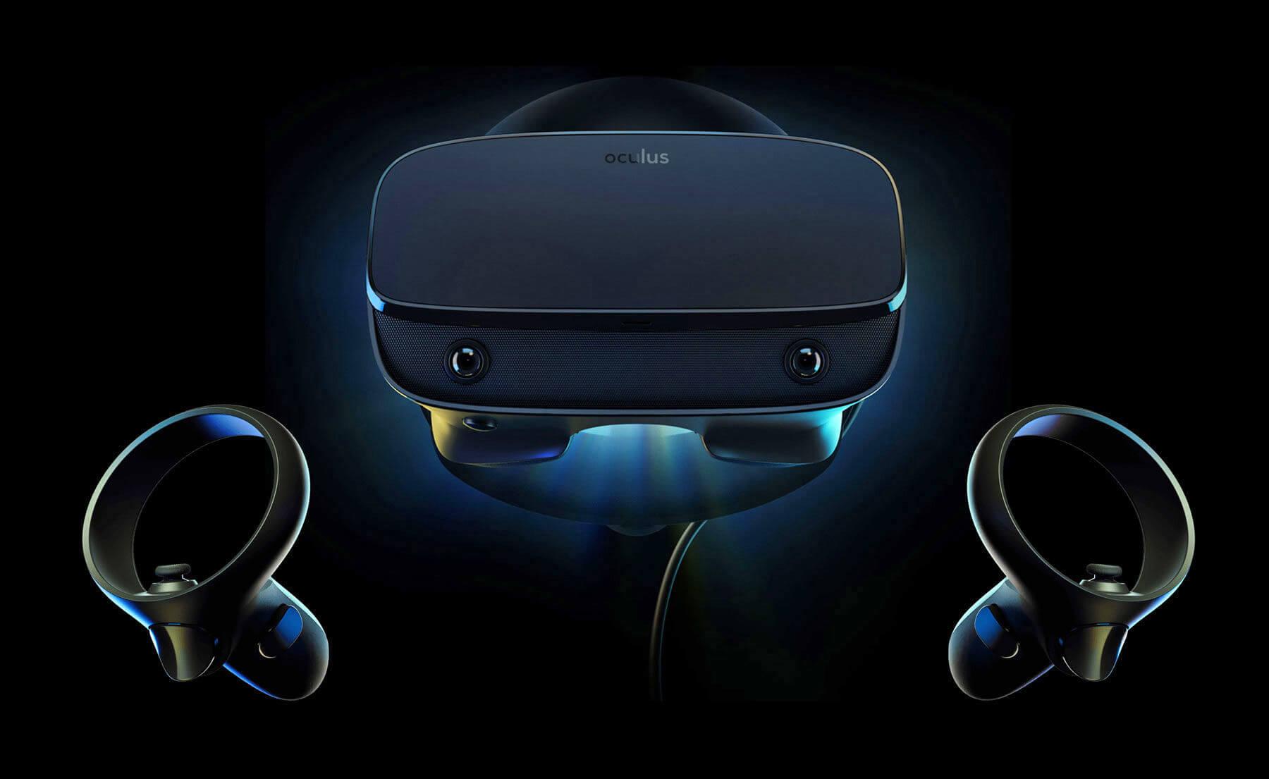 Oculus представила новую гарнитуру виртуальной реальности Rift S
