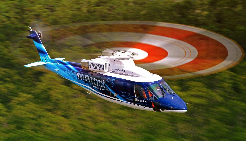 Вертолет Sikorsky SARA с автоматическим управлением