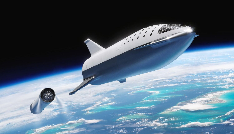 SpaceX испытала тепловую защиту корабля Starship