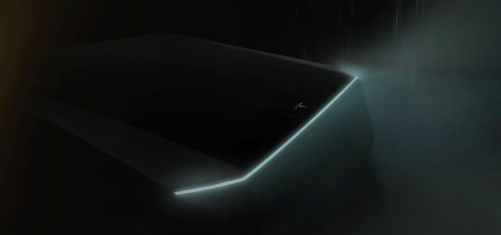 Тизер пикапа Tesla