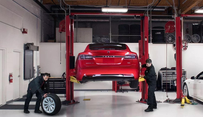 Ремонт автомобилей Tesla