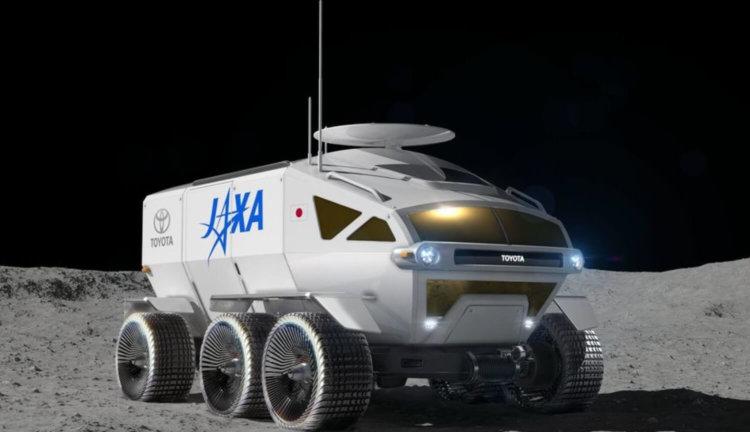 Лунный вездеход Toyota