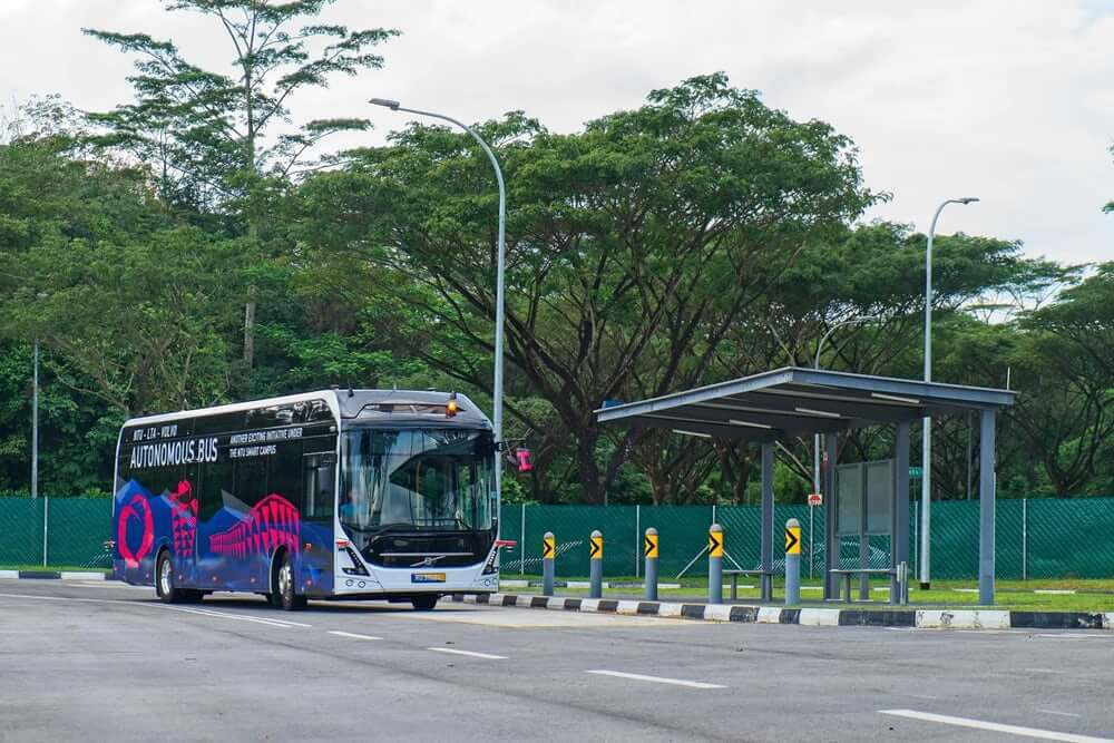 Автономный автобус Volvo