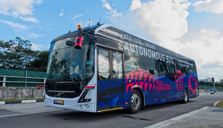 Автономный транспорт Volvo потребляет на 80% меньше энергии, чем обычные автобусы