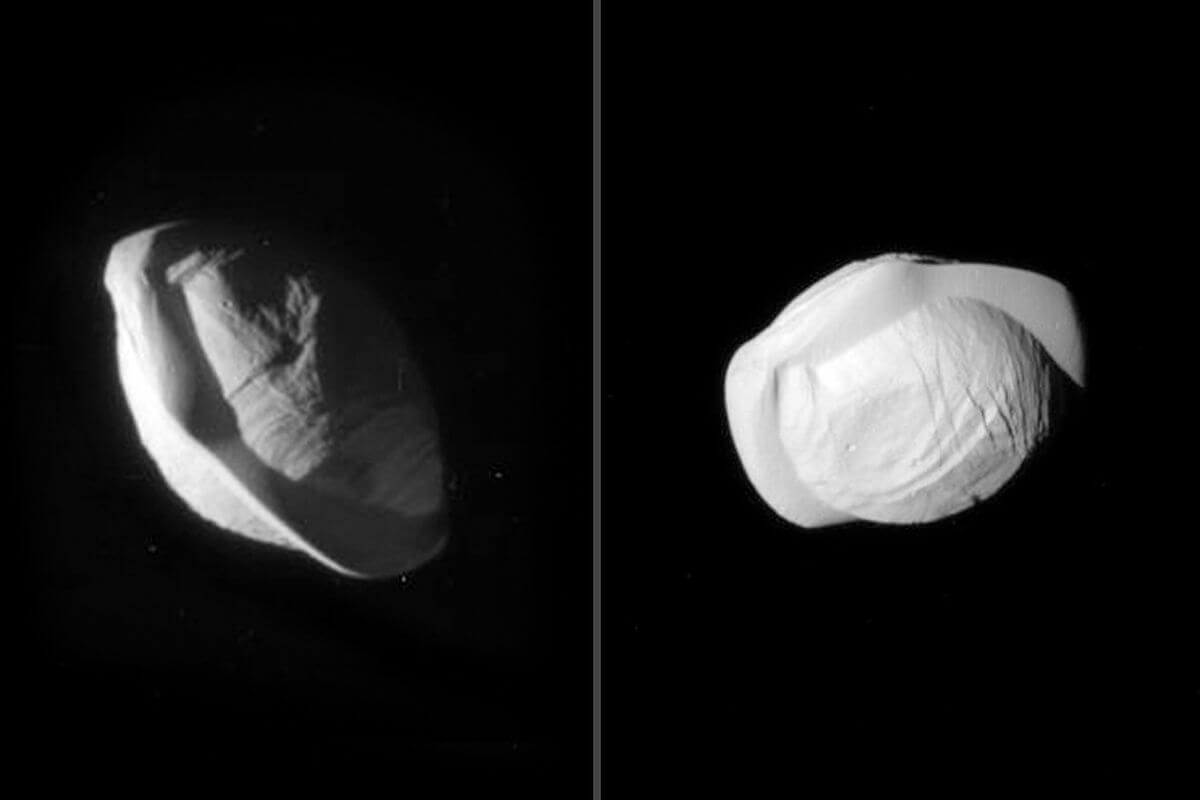 Спутник Сатурна Пан