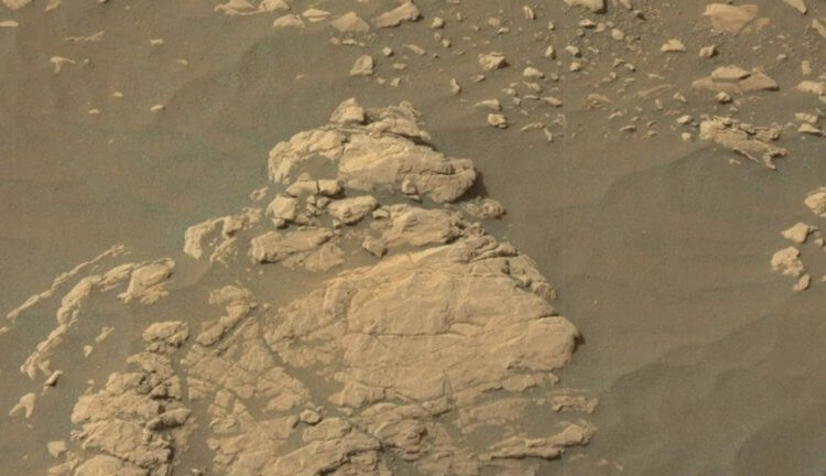 Глиняная поверхность Марса