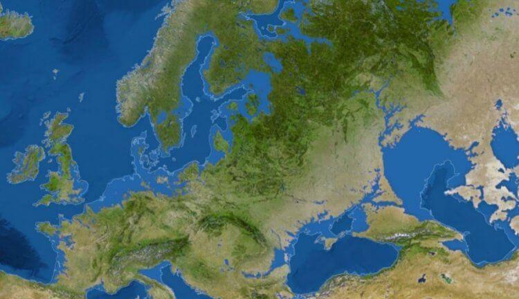 Земля безо льда
