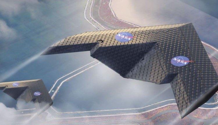 Новое поколение крыльев для самолетов