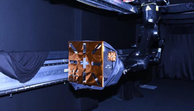 Навигационные маркеры для космических аппаратов