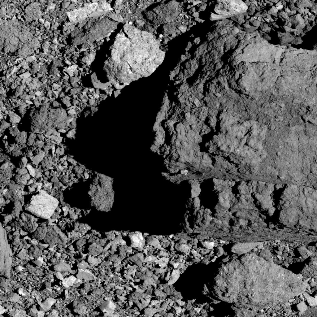 «Валун № 1» на астероиде Бенну