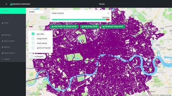 Трехмерная карта мира позволит нам создавать улицы в дополненной реальности