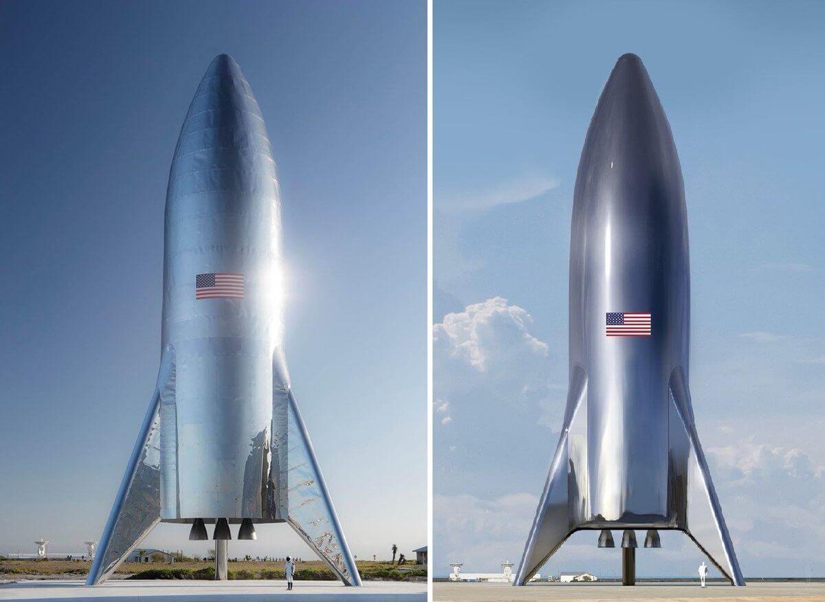SpaceX провела первое испытание раннего прототипа космического корабля Starship