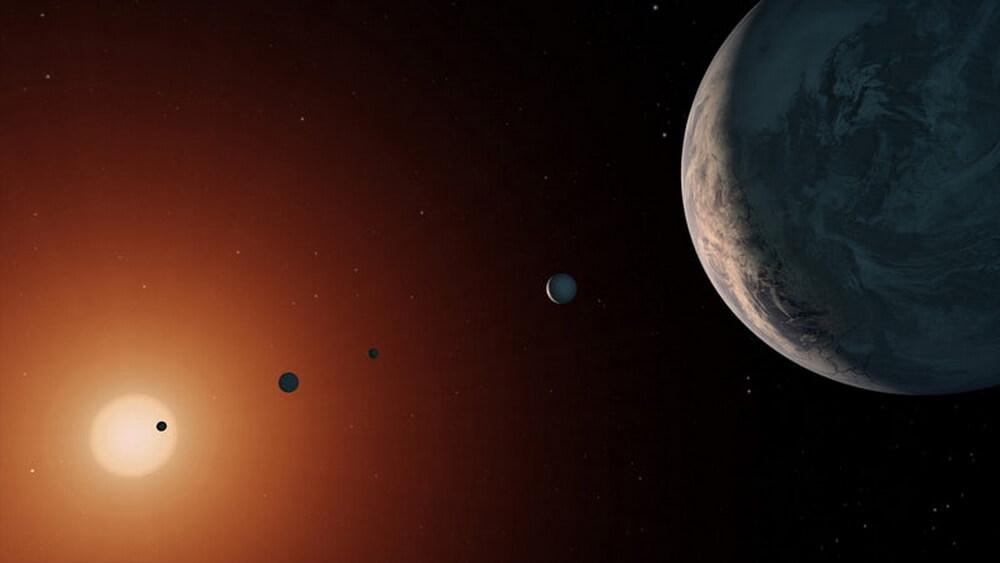 Астрономы продолжают гадать об обитаемости планетарной системы TRAPPIST-1