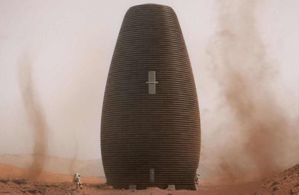 NASA выбрало победителя конкурса на разработку марсианского жилища