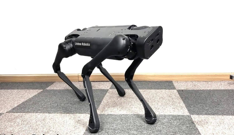 #видео | В Китае создана копия робота SpotMini от Boston Dynamics