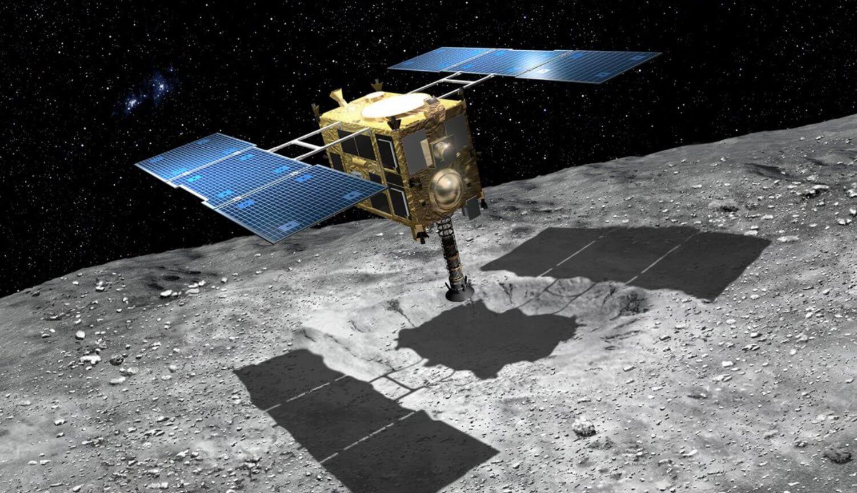 Зонд «Хаябуса-2» не смог сбросить маркер на кратер астероида Рюгу