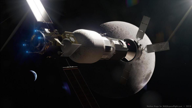 Первую часть лунной базы NASA построит Maxar за 375 миллионов долларов