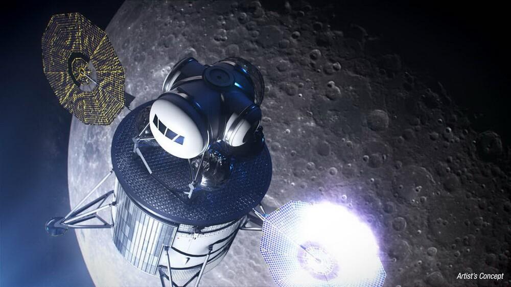 NASA создаст лунный посадочный модуль миссии «Артемида» вместе с SpaceX и Blue Origin