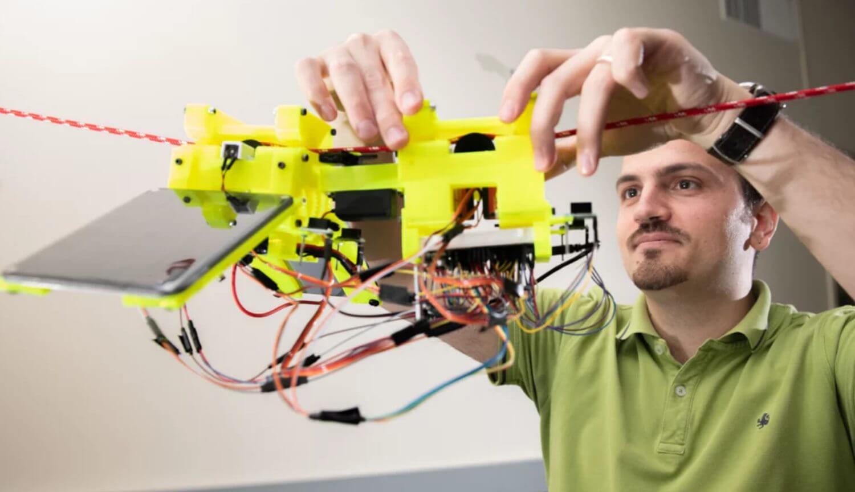 Робот научился экономить энергию подобно ленивцам
