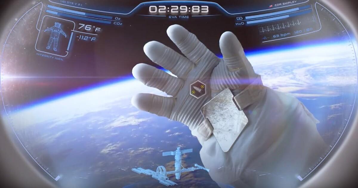 В США разработали шлем космического скафандра с проекционным дисплеем