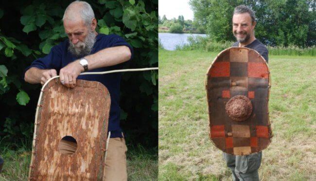 Археологи нашли 2300-летний щит из коры дерева — чем он лучше металлических щитов?