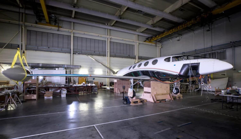 Создан самый большой в мире электрический самолет для пассажиров