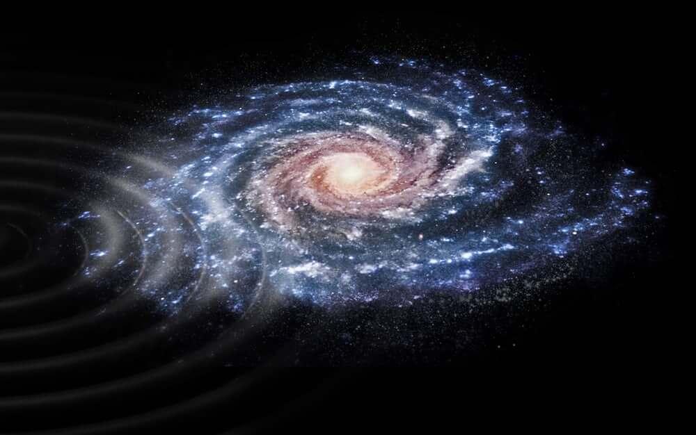 Астрономы объяснили необычные волны на поверхности нашего Млечного Пути