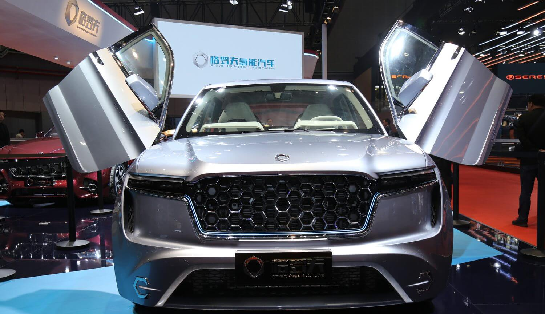 Китай представил свой первый водородный автомобиль с рекордным запасом хода