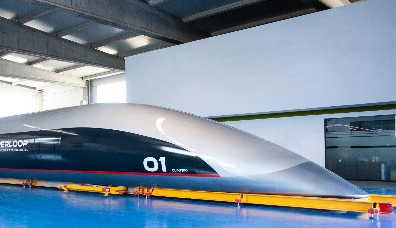 Пассажирская капсула Hyperloop поставила новый рекорд скорости