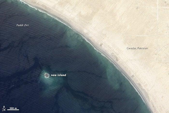#фото | Самый большой остров из грязи исчез с лица Земли