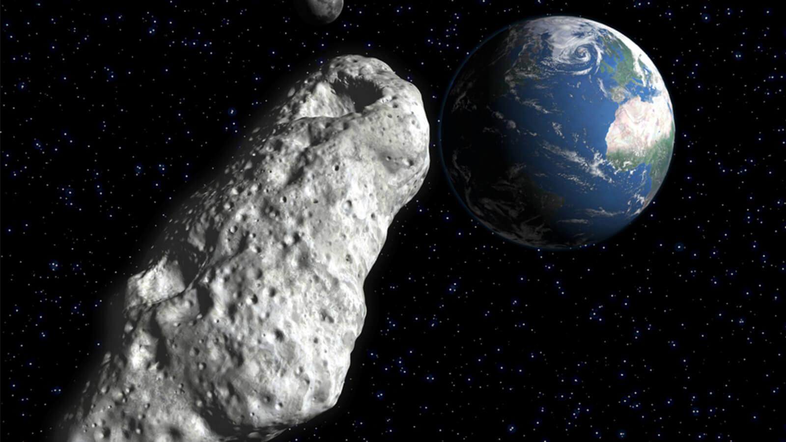 К Земле летит огромный астероид размером с небоскреб