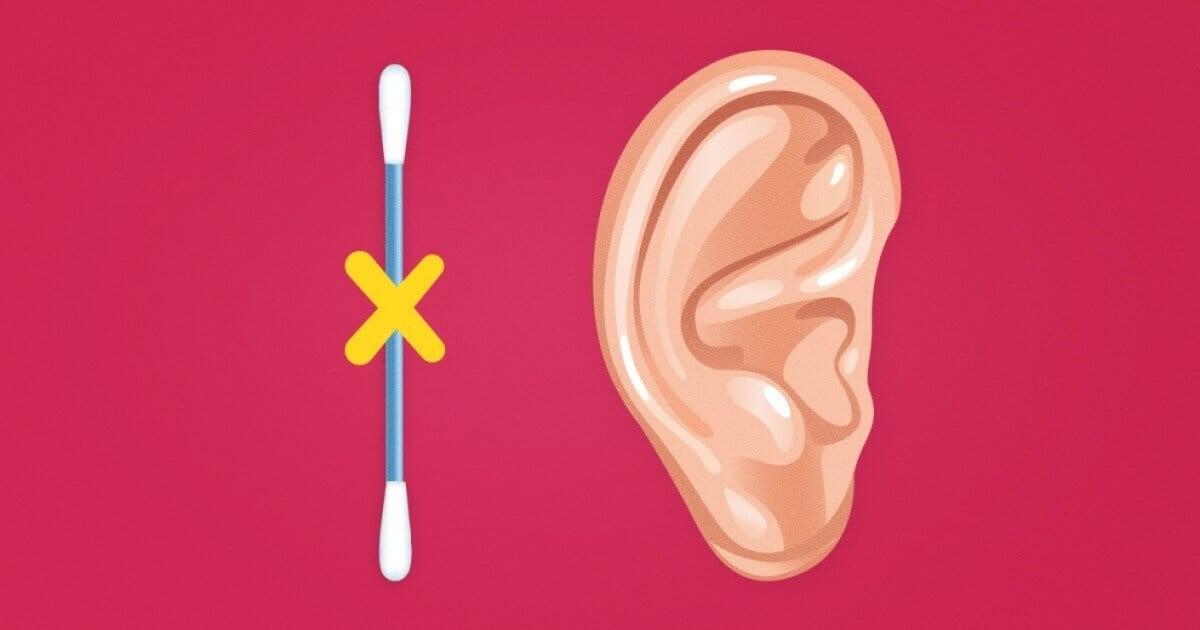 Почему нельзя чистить уши ватными палочками?