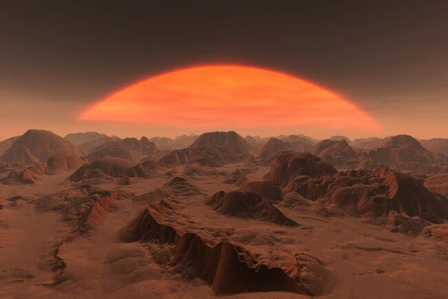 Были ли дожди на Марсе похожи на земные? | Hi-News.ru