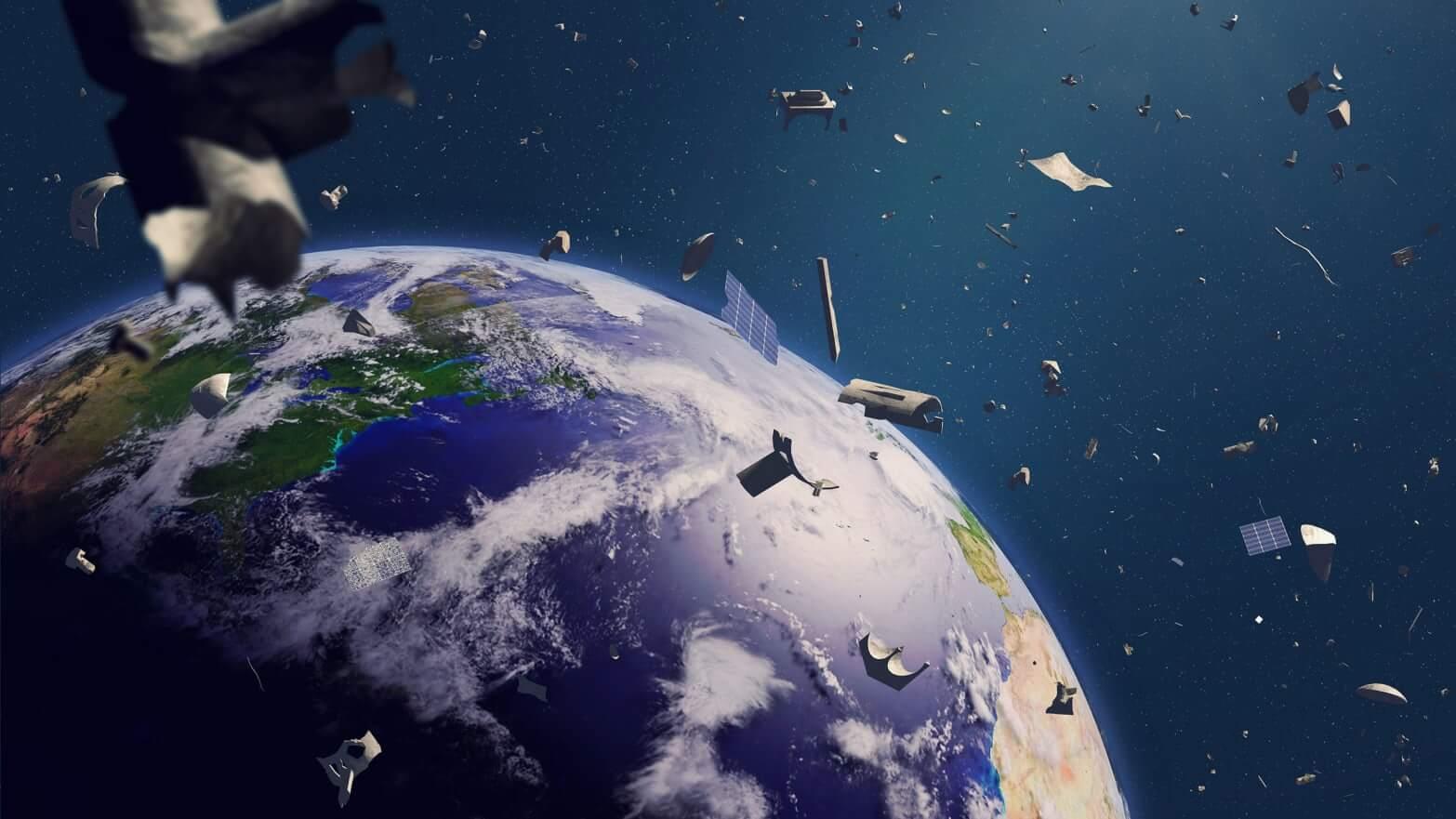Российские спутники получат функцию самоуничтожения. Космического мусора станет меньше?