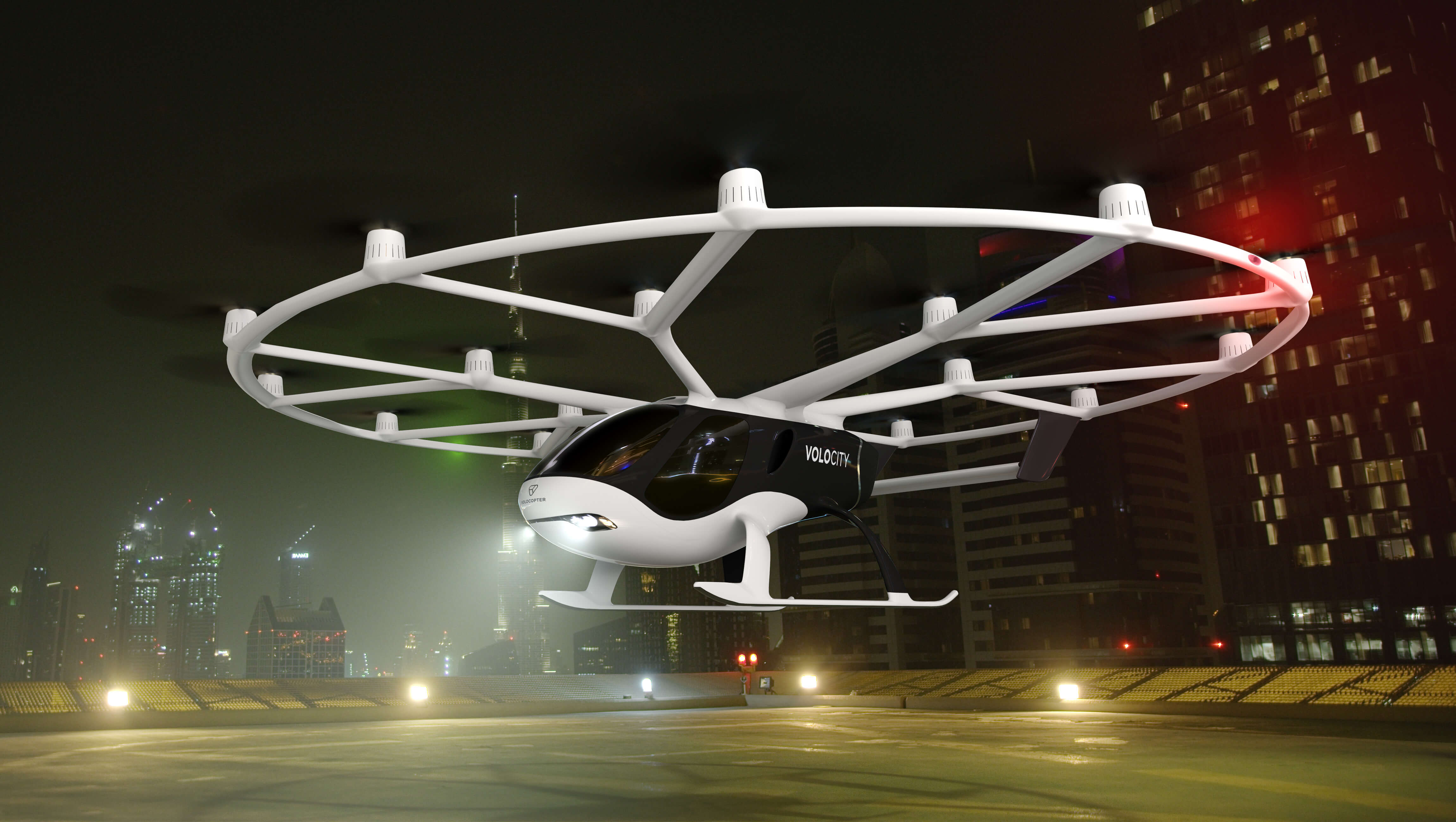 Представлена финальная версия летающего такси VoloCity
