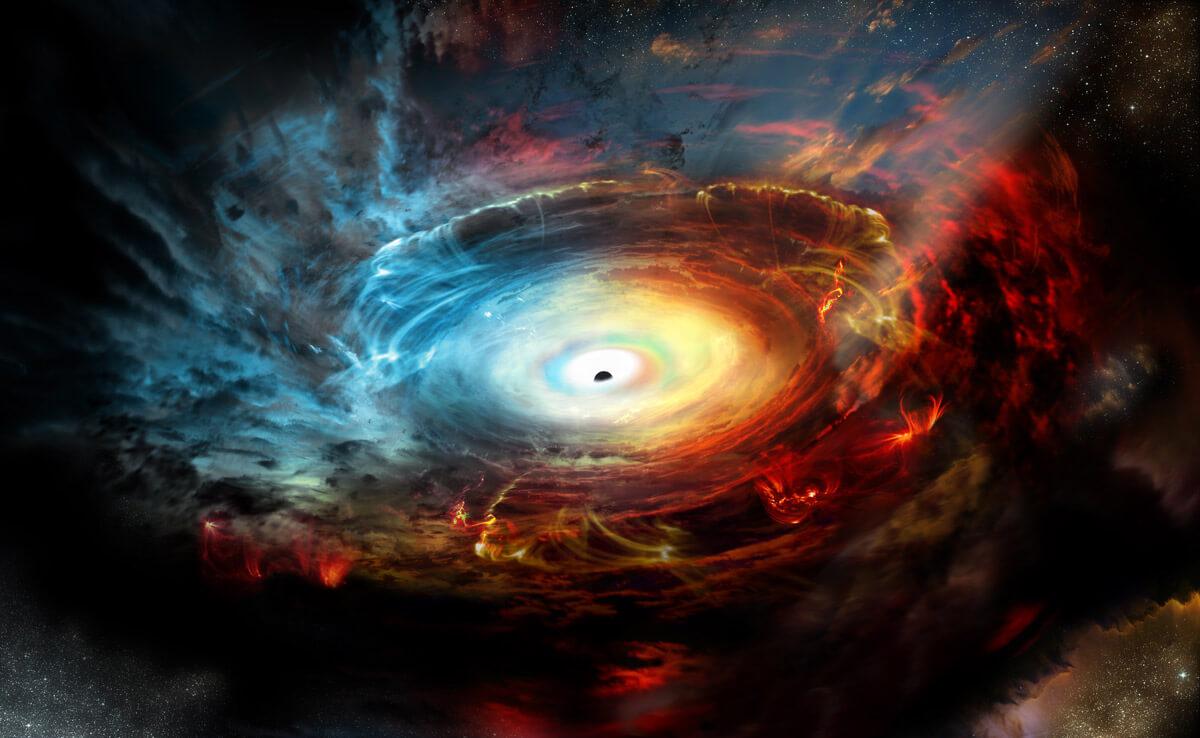 Могут ли черные дыры быть сделаны из темной энергии?