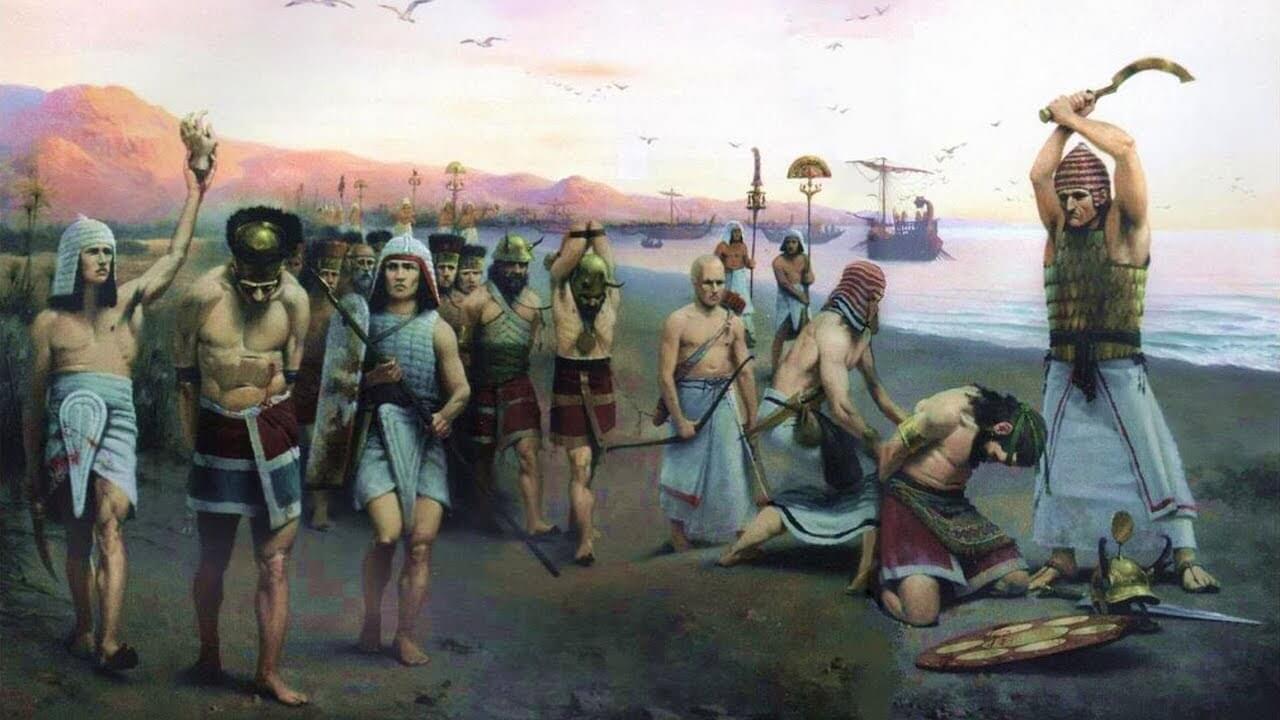 Какие вещи брали воины бронзового века на поле битвы?