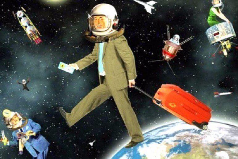 Самые странные вещи, которые когда-либо были запущены человеком в космос