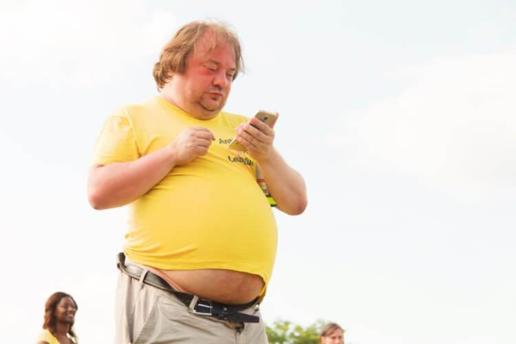Почему люди с лишним весом подвержены астме и другим болезням легких?