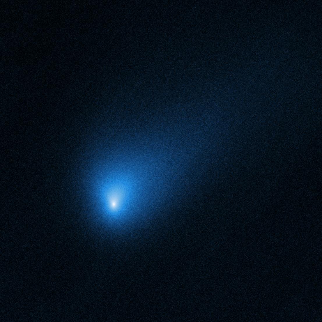 Nasa поделилось фотографиями первой межзвездной кометы